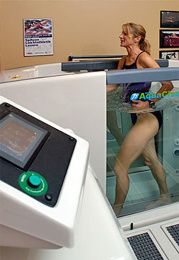 Aquatic Therapy Treatments at Maxfit with Stephanie McCann Physio Therapist in Port Moody BC